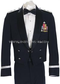 USAF MESS DRESS OFFICER UNIFORM. Please select your rank first, then the different components available for your rank will be showing below for you to conveniently select the items you need for your uniform.