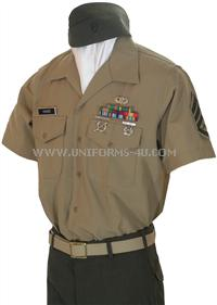 USMC Enlisted Service C Charlie Uniform