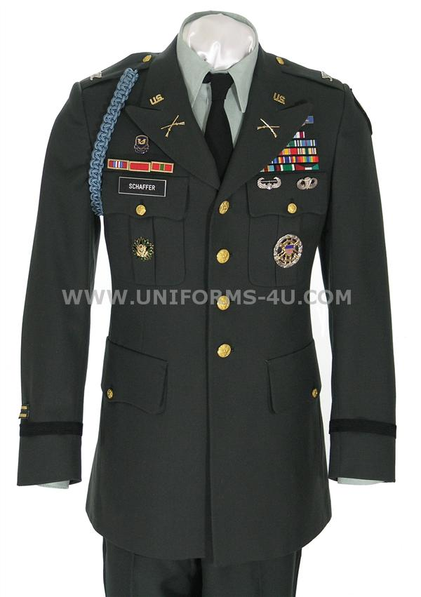 United States Army Class A Uniform