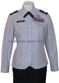 Customizable US Air Force officer female uniforms, customizable to the particular items you will need for your uniform.