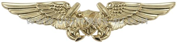 NAVAL FLIGHT OFFICER ASTRONAUT BADGE