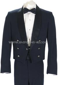 The United States Air Force Mess Dress Jacket is worn with the mess dress uniform by officers as well as NCOs.