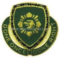 744 Military police battalion unit crest.