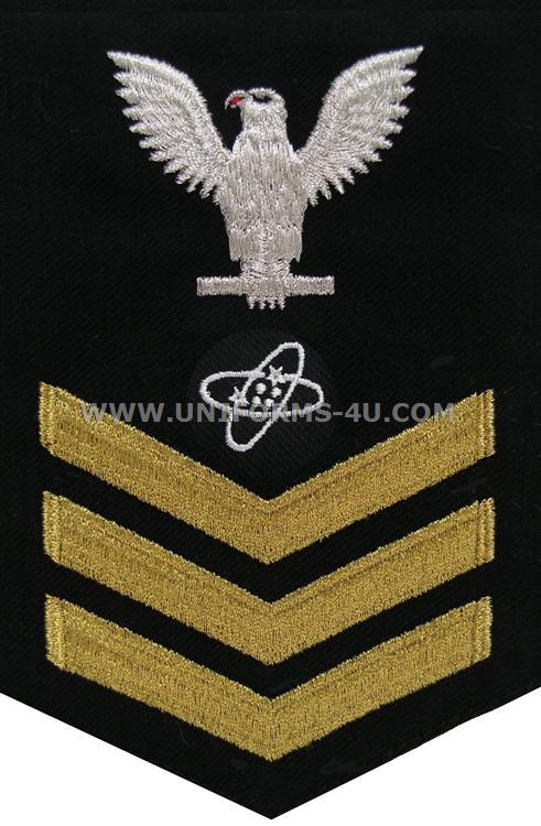 us navy e6 Electronics Technician (ET) dress blue good conduct rating ...
