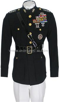 USMC Officer Dress white uniform