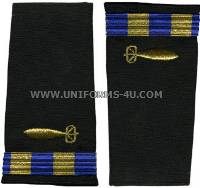 us navy cwo soft shoulder boards underwater ordnance technician