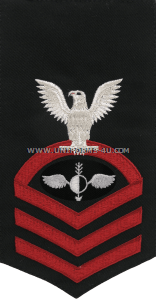 us navy aerographer's mate (AG) rating badge