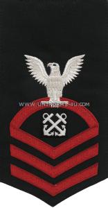us navy boatswain's mate (BM) rating badge