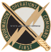 army 1 information operations command unit crest