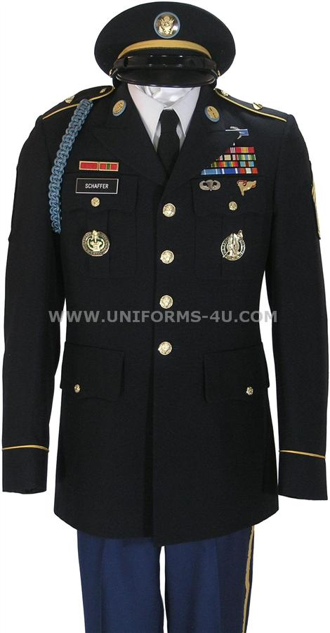 Army+Blues+Uniform+Set+Up US ARMY ENLISTED MALE ARMY STANDARD UNIFORM ...