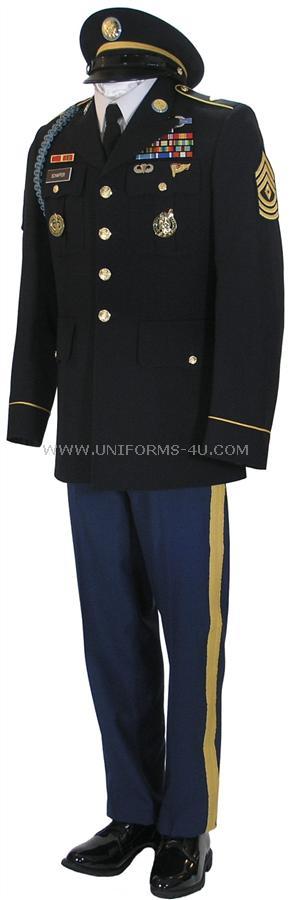 US ARMY ENLISTED MALE ARMY STANDARD UNIFORM - ASU