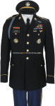 us army enlisted male army service uniform - asu