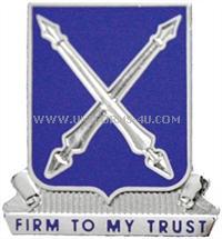us army 154 regiment unit crest