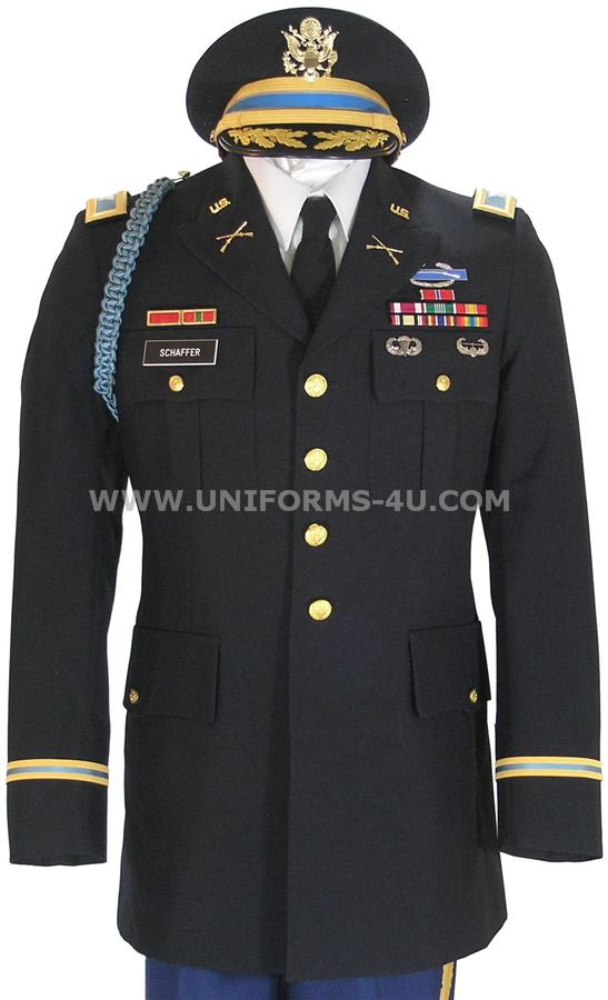 Big u us army officer male blue army service uniform asu 15169