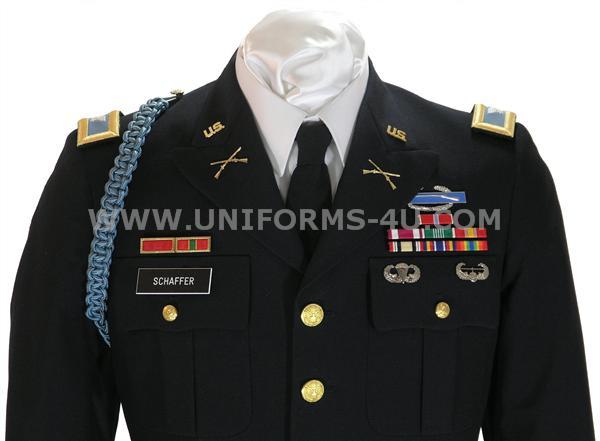 Us Army Officer Male Blue Army Service Uniform Asu