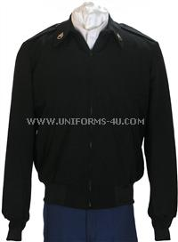 us army enlisted black windbreaker asu class b