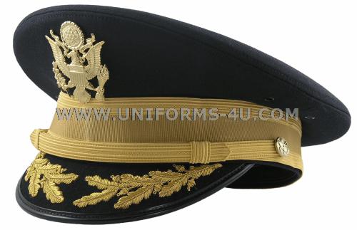 Us Army Asu Quartermaster Dress Blue Fg Bullion Cap
