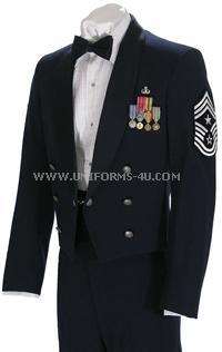 usaf mess dress enlisted uniform