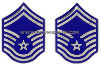 air force chevron metal senior master sergeant