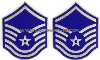 air force chevron metal master sergeant