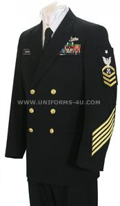 us navy chief petty officer dress blue uniform