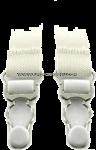 US Military white shirt garters