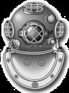 us Navy Diver (ND) rating badge