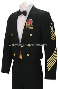 us navy enlisted dinner dress blue jacket uniform