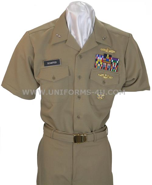 uniform description us navy officers cpos khaki uniform select your ...