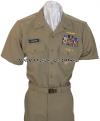 us navy officers & cpo khaki uniform