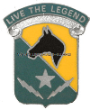 special troops battalion 1cavalry division unit crest