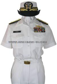 us navy female summer white uniform