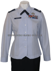 us air force female officer uniform