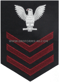 us navy e6 dress blue rating badge