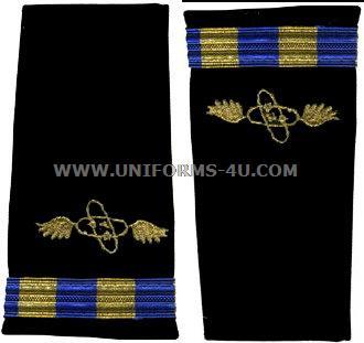 us navy soft shoulder board wo2 aviation electronics technician