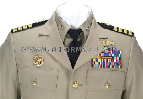 US NAVY COMMANDER - CAPTAIN KHAKI POLYWOOL HAT