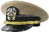 us navy officer khaki polywool hat