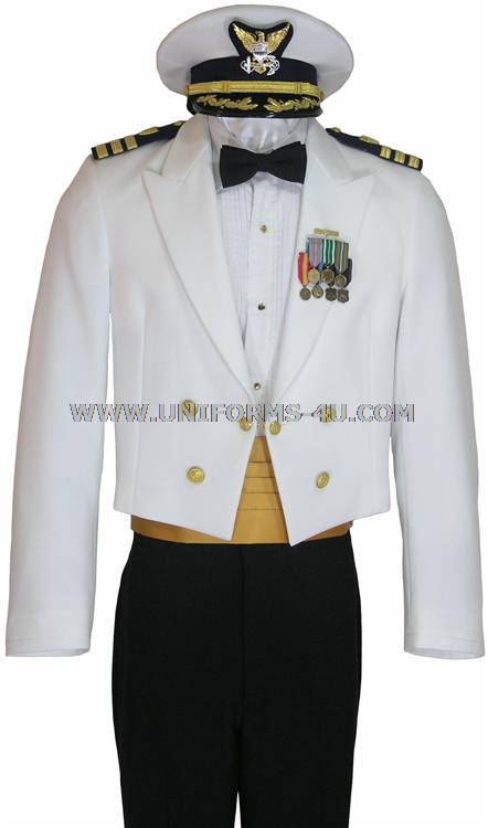 Coast Guard Dress White Uniform Coast Guard Dinner Dress White