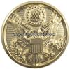 us army Hamilton gold dress button