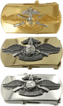 us navy fleet marine force officer buckle