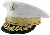 USMC COMMANDANT DRESS WHITE HAT