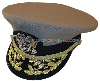 US Navy Officer Admiral Khaki Hat