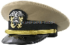 us navy officer khaki hat