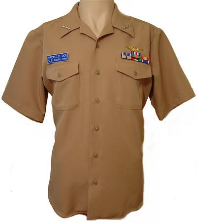 us navy vice admiral khaki uniform-complete!