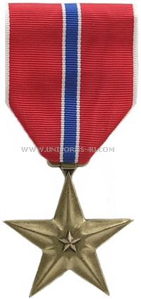 bronze star military medal