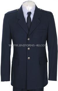 usaf officer Service Dress Blue coat