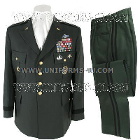 us army four star general green uniform