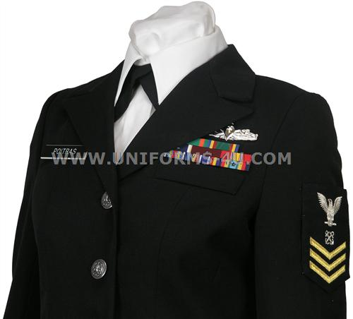 US Navy Female Enlisted Dress Blue Coat