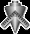 us navy e6 builder (BU)  dress blue rating badge