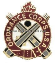 army ordnance corps regimental uniform crest